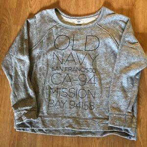 Old Navy Women's Fashion Sweat Shirt